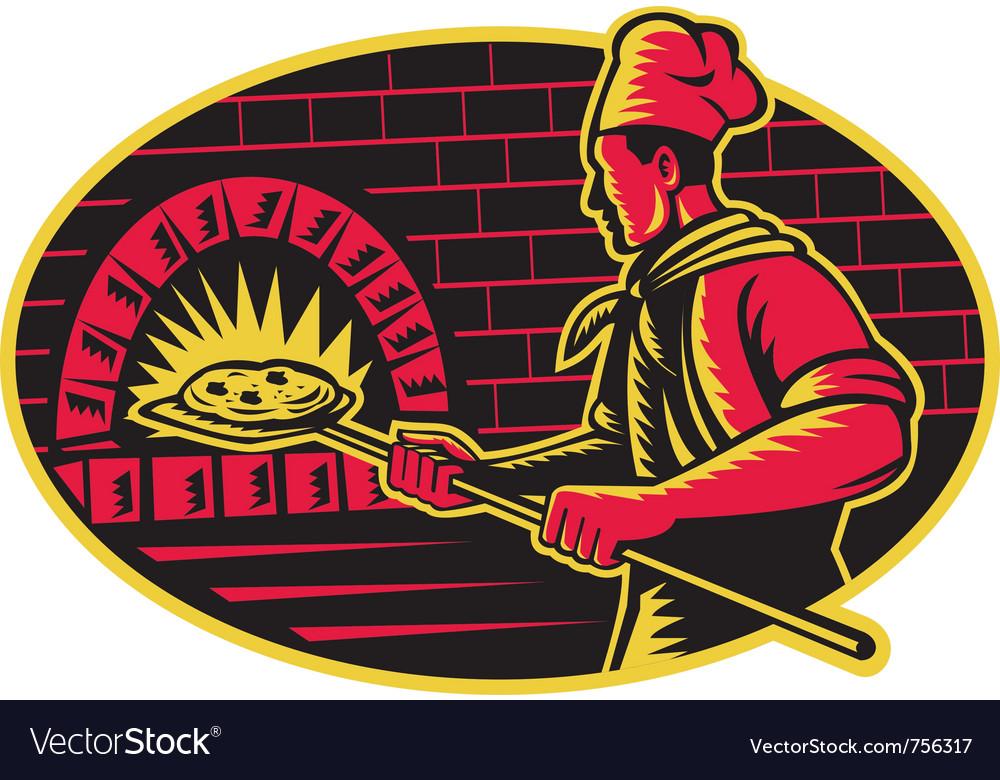 Pizza chief vector