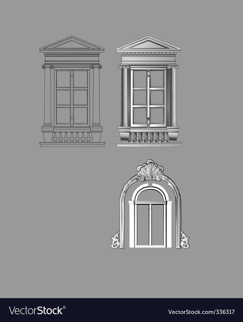 Window vector | Price: 1 Credit (USD $1)