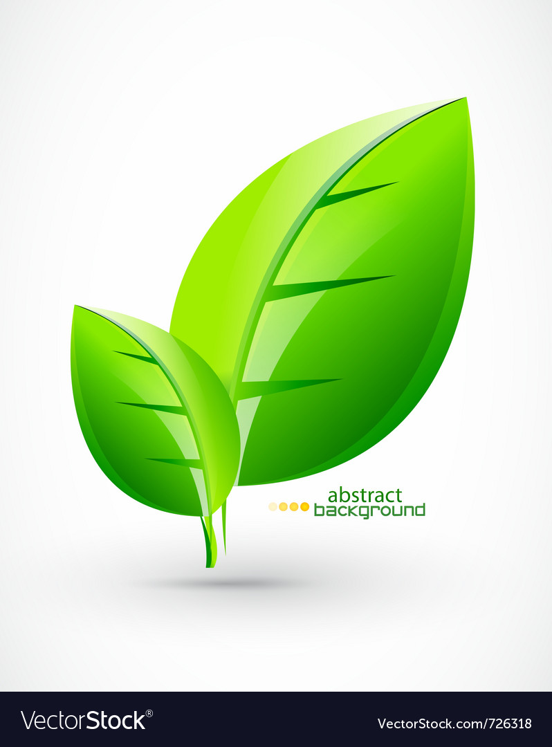 Nature green concept background vector | Price: 1 Credit (USD $1)