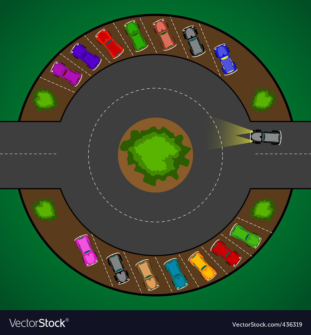 Roundabout vector | Price: 1 Credit (USD $1)
