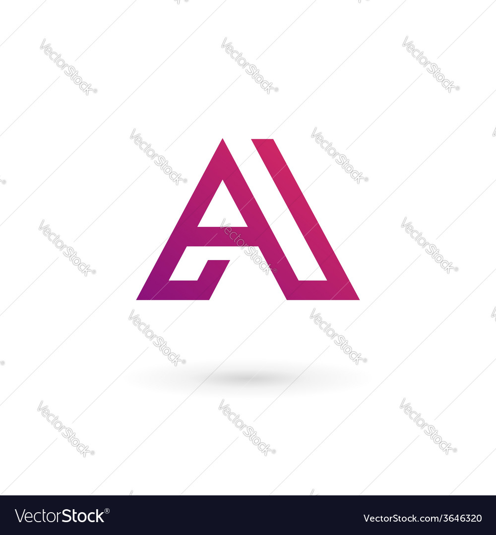 Letter a logo icon design template elements vector   Price: 1 Credit (USD $1)