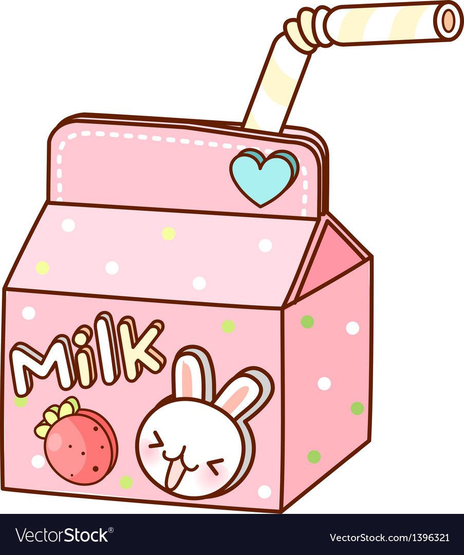 A milk is placed vector | Price: 1 Credit (USD $1)