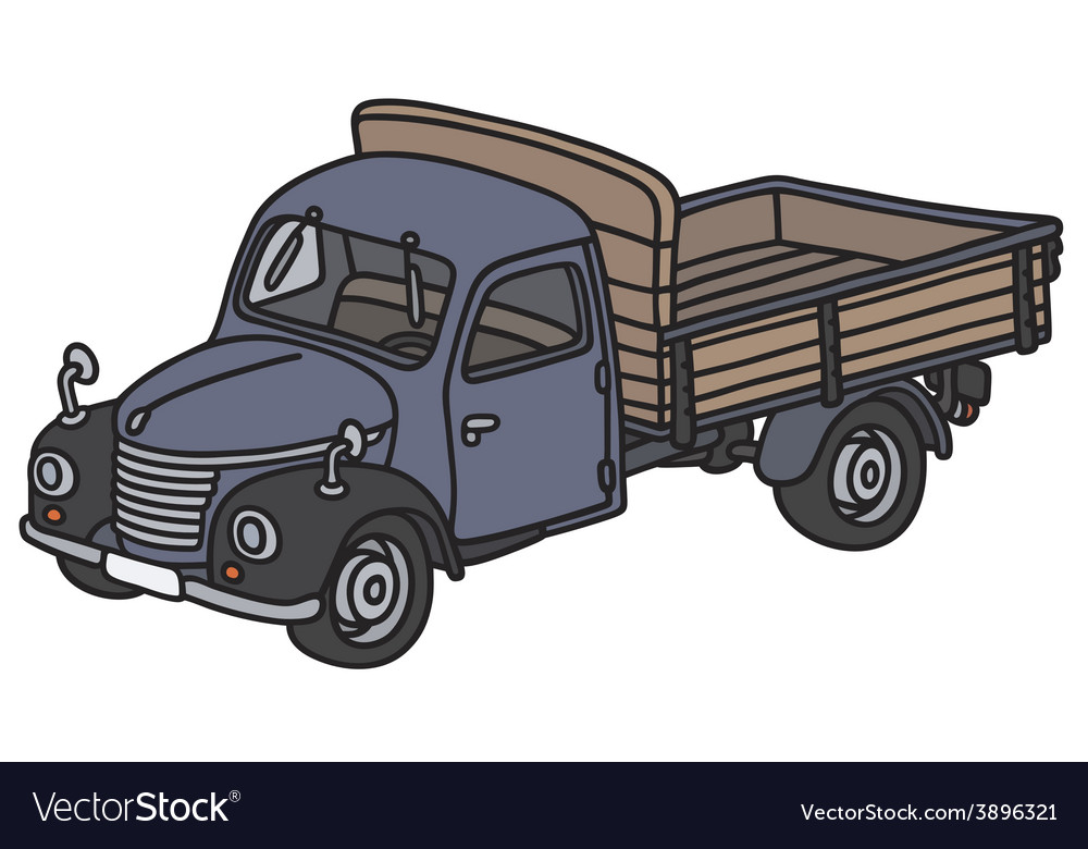 Classic truck vector | Price: 1 Credit (USD $1)