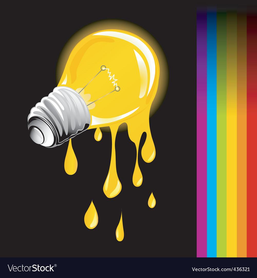 Light bulb vector | Price: 3 Credit (USD $3)