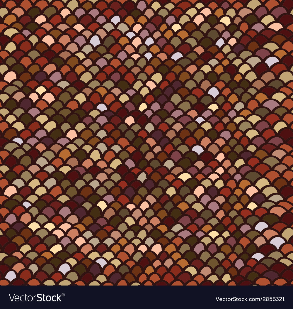 Scale seamless pattern vector | Price: 1 Credit (USD $1)