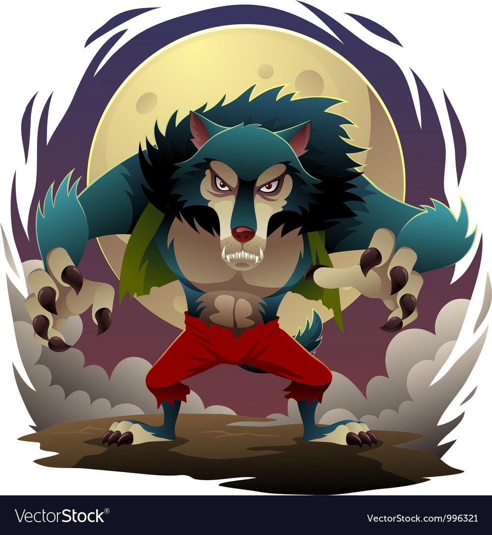 Werewolf vector   Price: 5 Credit (USD $5)