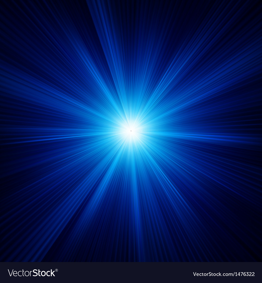 Blue color design with a burst eps 10 vector | Price: 1 Credit (USD $1)