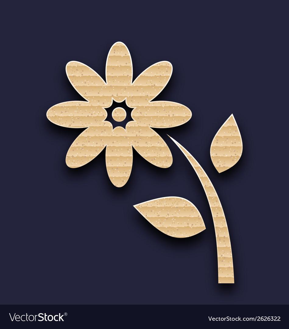 Carton paper flower handmade background vector   Price: 1 Credit (USD $1)