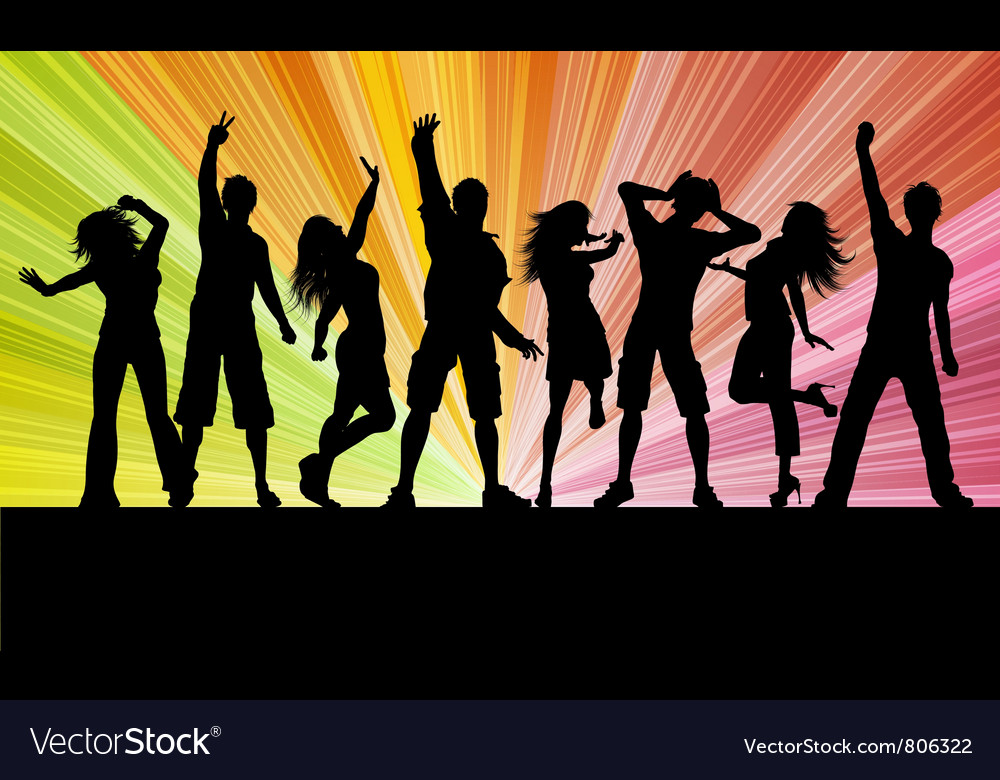 Party people vector   Price: 1 Credit (USD $1)