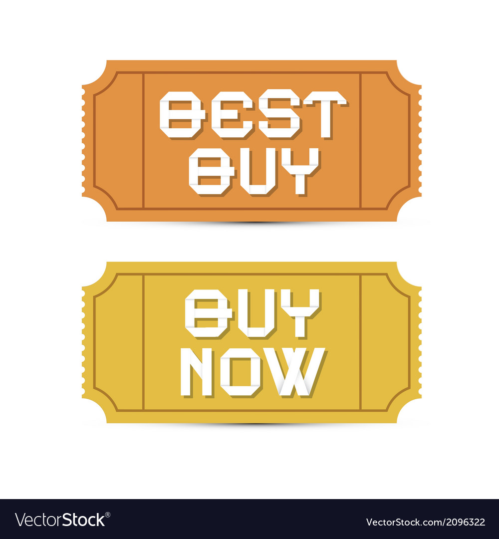 Retro ticket set vector | Price: 1 Credit (USD $1)