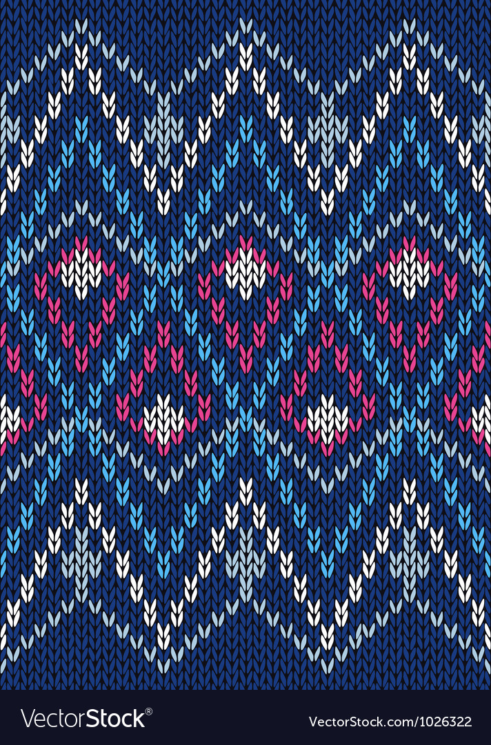 Seamless ornamental male style knitted pattern vector | Price: 1 Credit (USD $1)