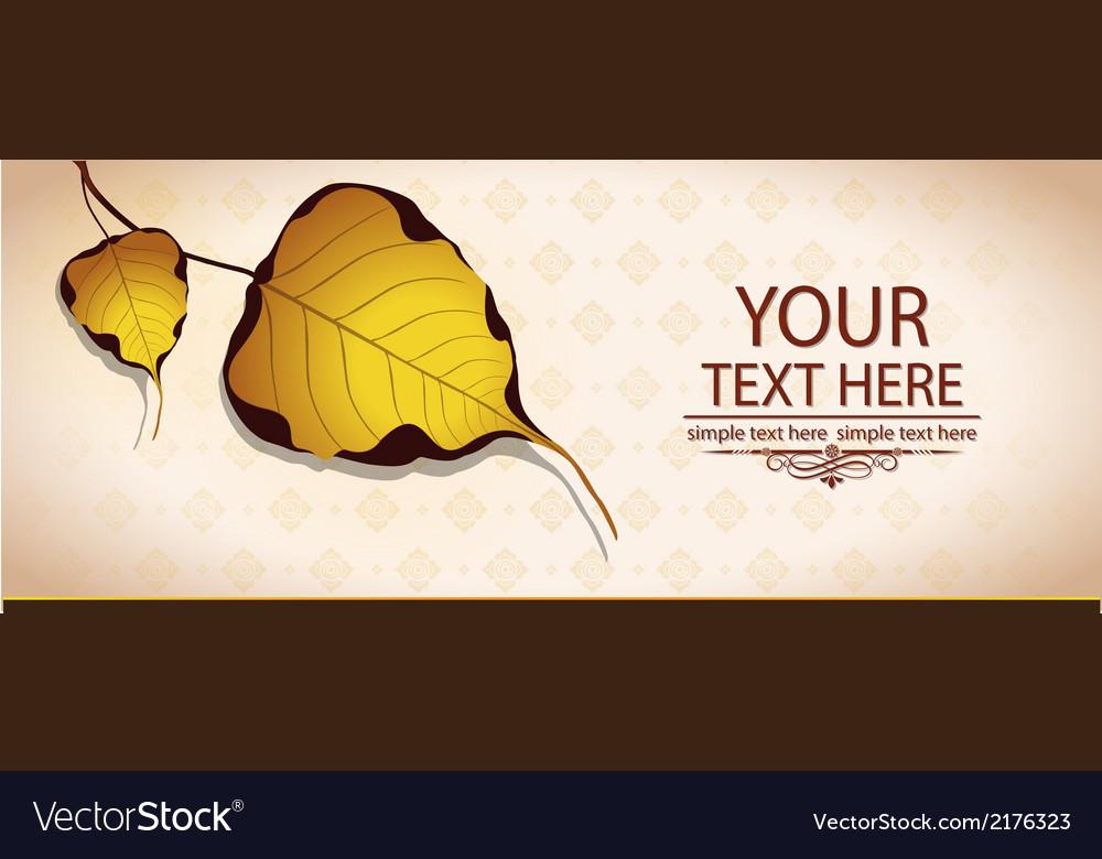 Bodhi leaf natural vector | Price: 1 Credit (USD $1)