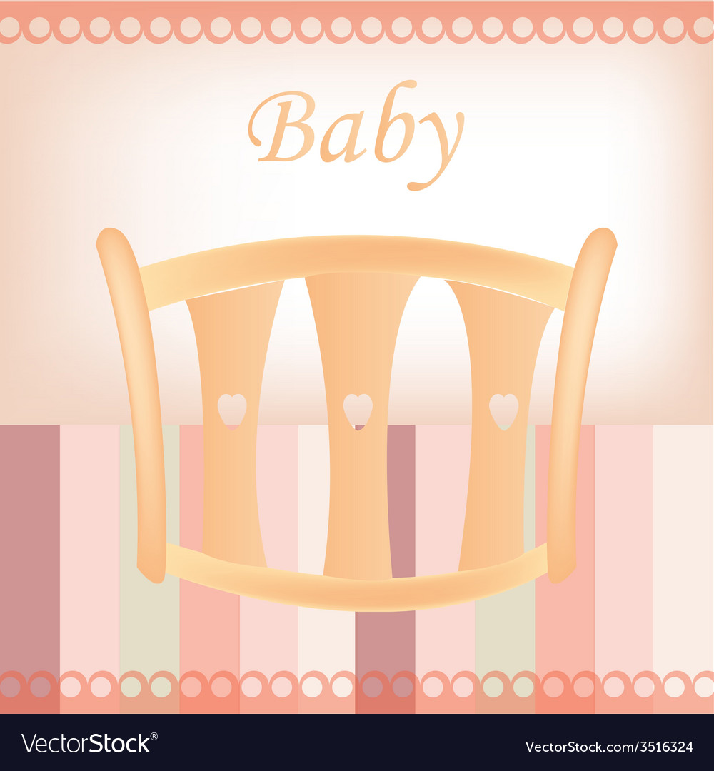 Baby document design vector | Price: 1 Credit (USD $1)
