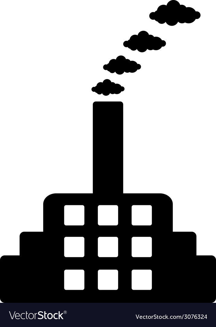 Factory icon vector | Price: 1 Credit (USD $1)