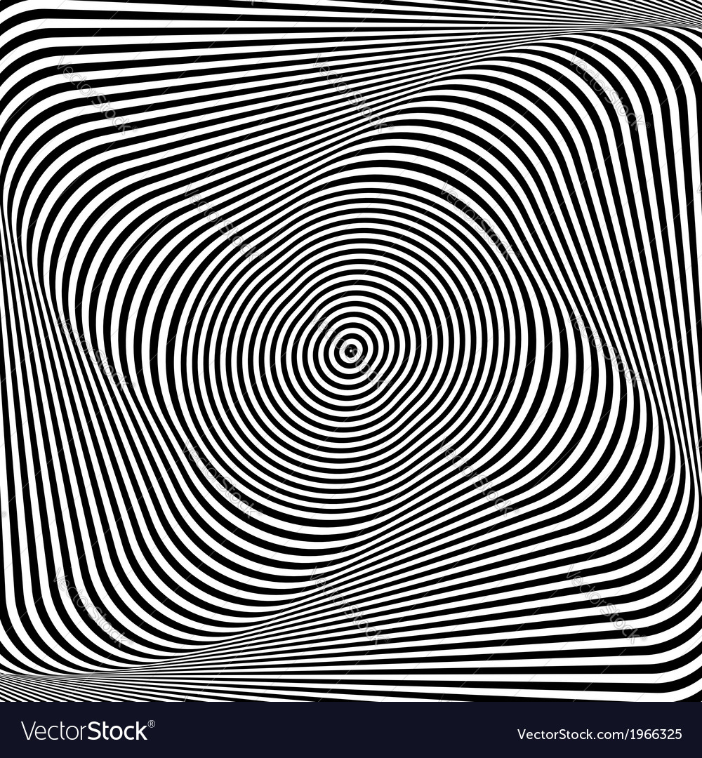 Abstract op art background vector   Price: 1 Credit (USD $1)
