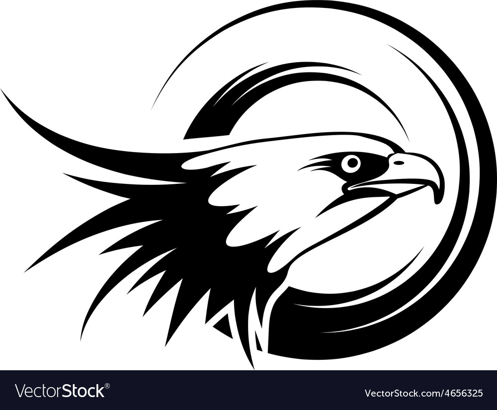 Head of eagle vector | Price: 1 Credit (USD $1)