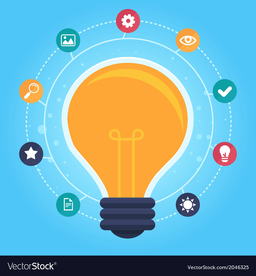 Idea infographic vector | Price: 1 Credit (USD $1)