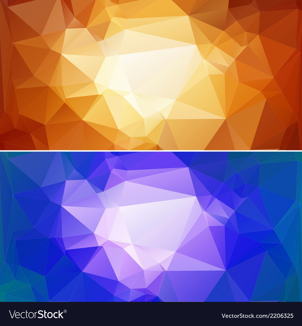 Polygon paper backgrounds 02 vector | Price: 1 Credit (USD $1)