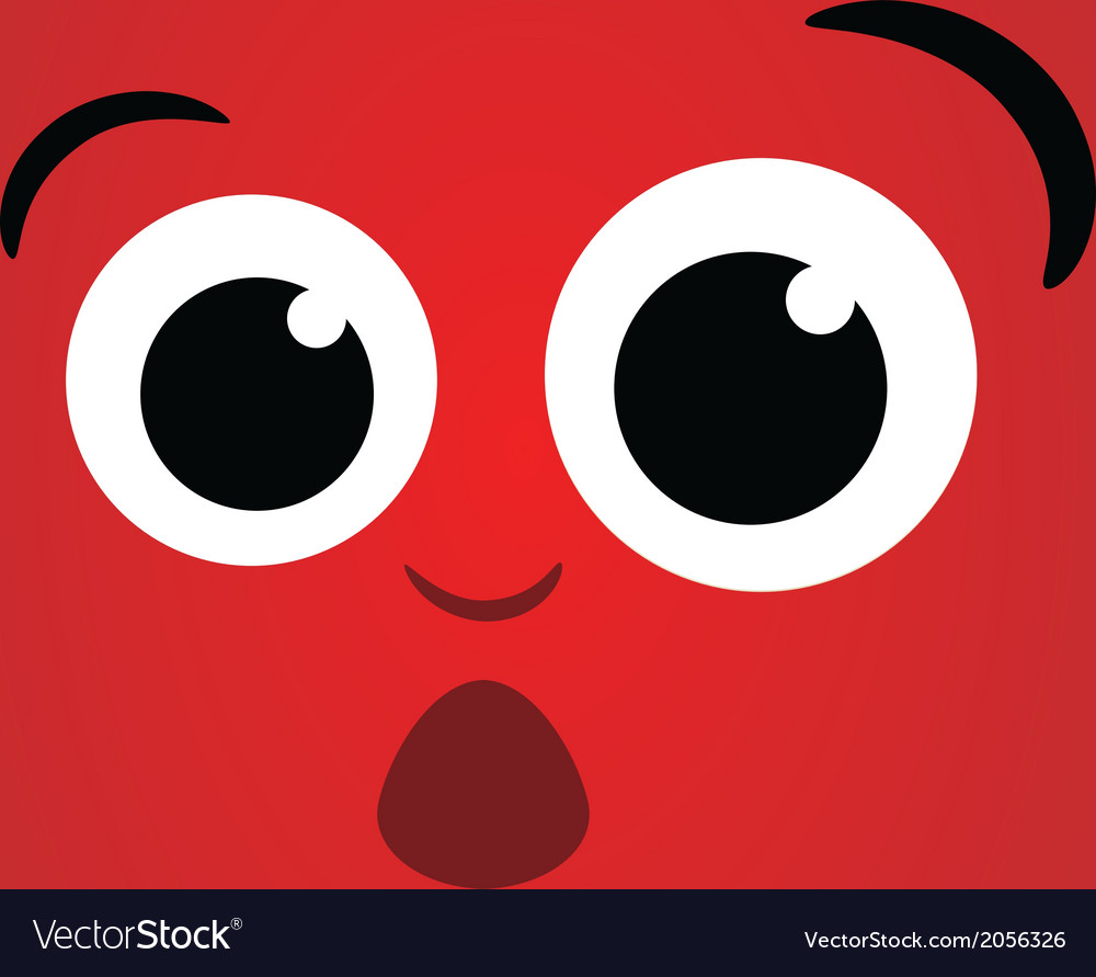 Dizzy face character vector | Price: 1 Credit (USD $1)