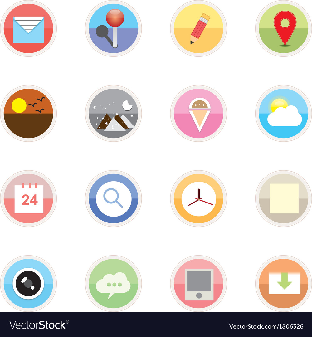 Web icons 22 vector | Price: 1 Credit (USD $1)