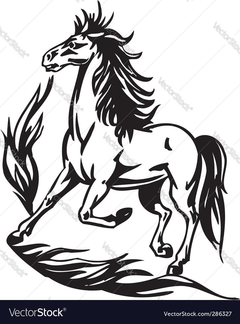 Horse vector | Price: 1 Credit (USD $1)