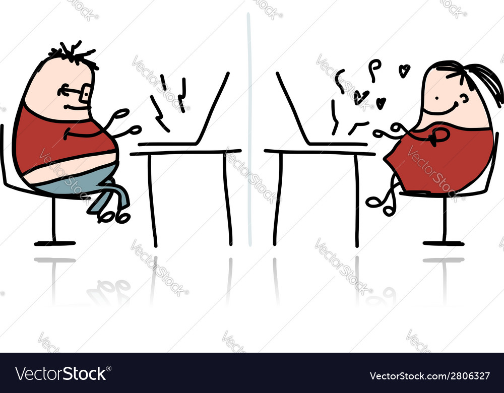Peoples working at office cartoon for your design vector   Price: 1 Credit (USD $1)