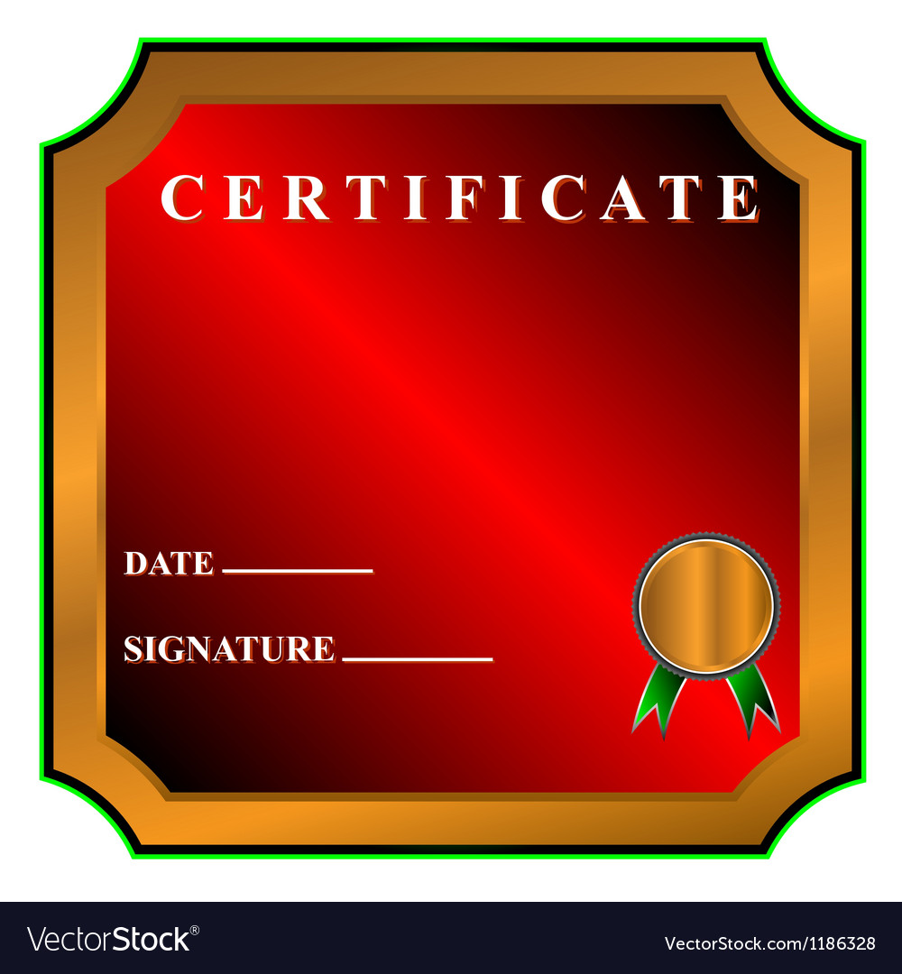 Best certificate vector | Price: 1 Credit (USD $1)