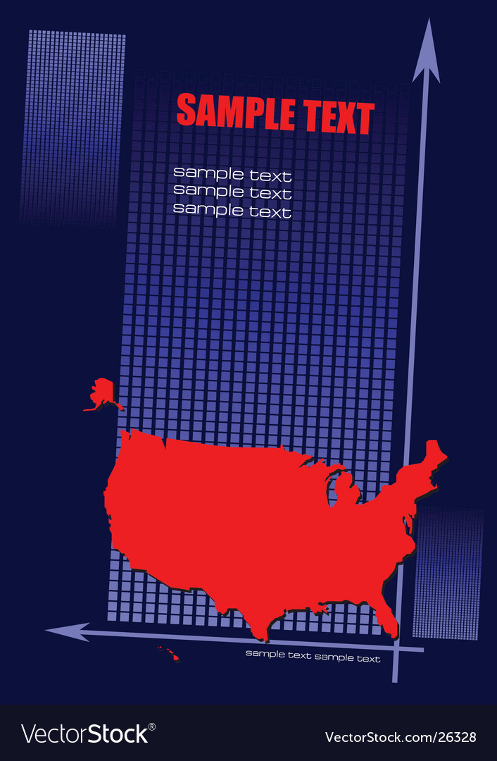 Book cover with usa vector | Price: 1 Credit (USD $1)