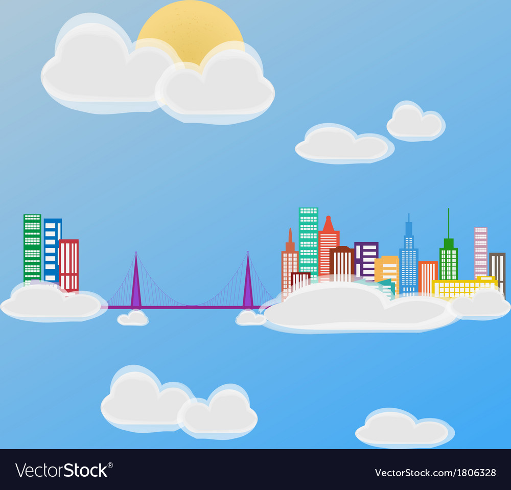 City 6 vector | Price: 1 Credit (USD $1)