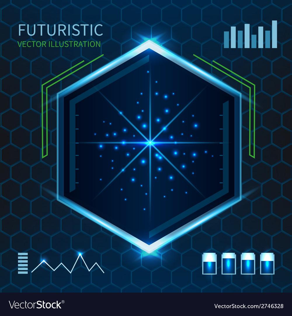 Futuristic vector | Price: 1 Credit (USD $1)