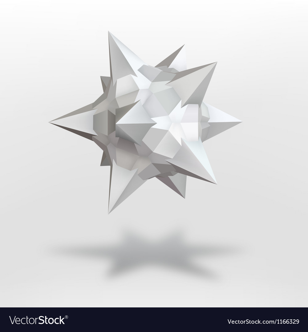 Abstract geometric shape vector | Price: 1 Credit (USD $1)
