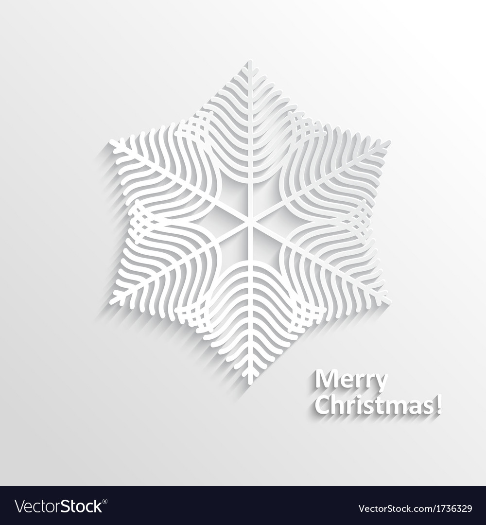 Design snowflake vector | Price: 1 Credit (USD $1)