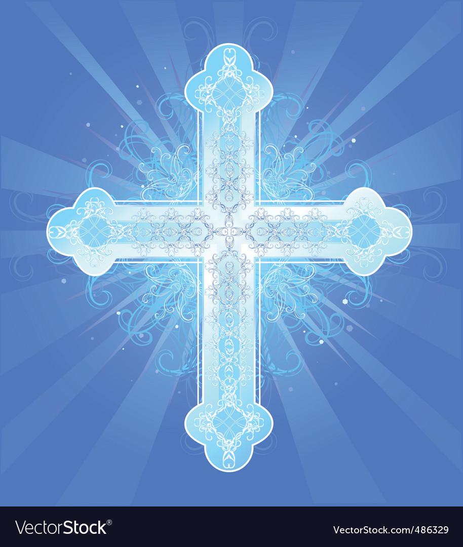Heavenly cross vector | Price: 1 Credit (USD $1)
