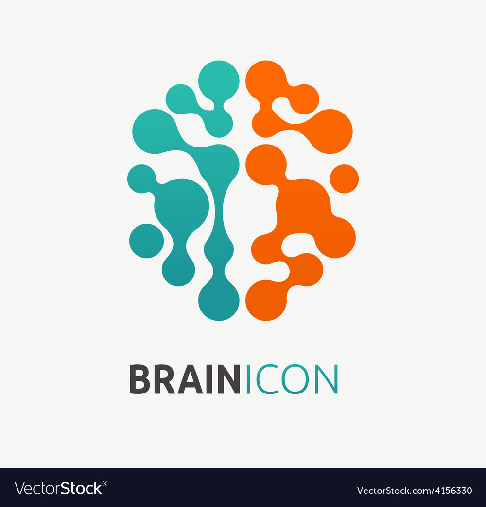 Brain creation idea icon and element vector | Price: 1 Credit (USD $1)