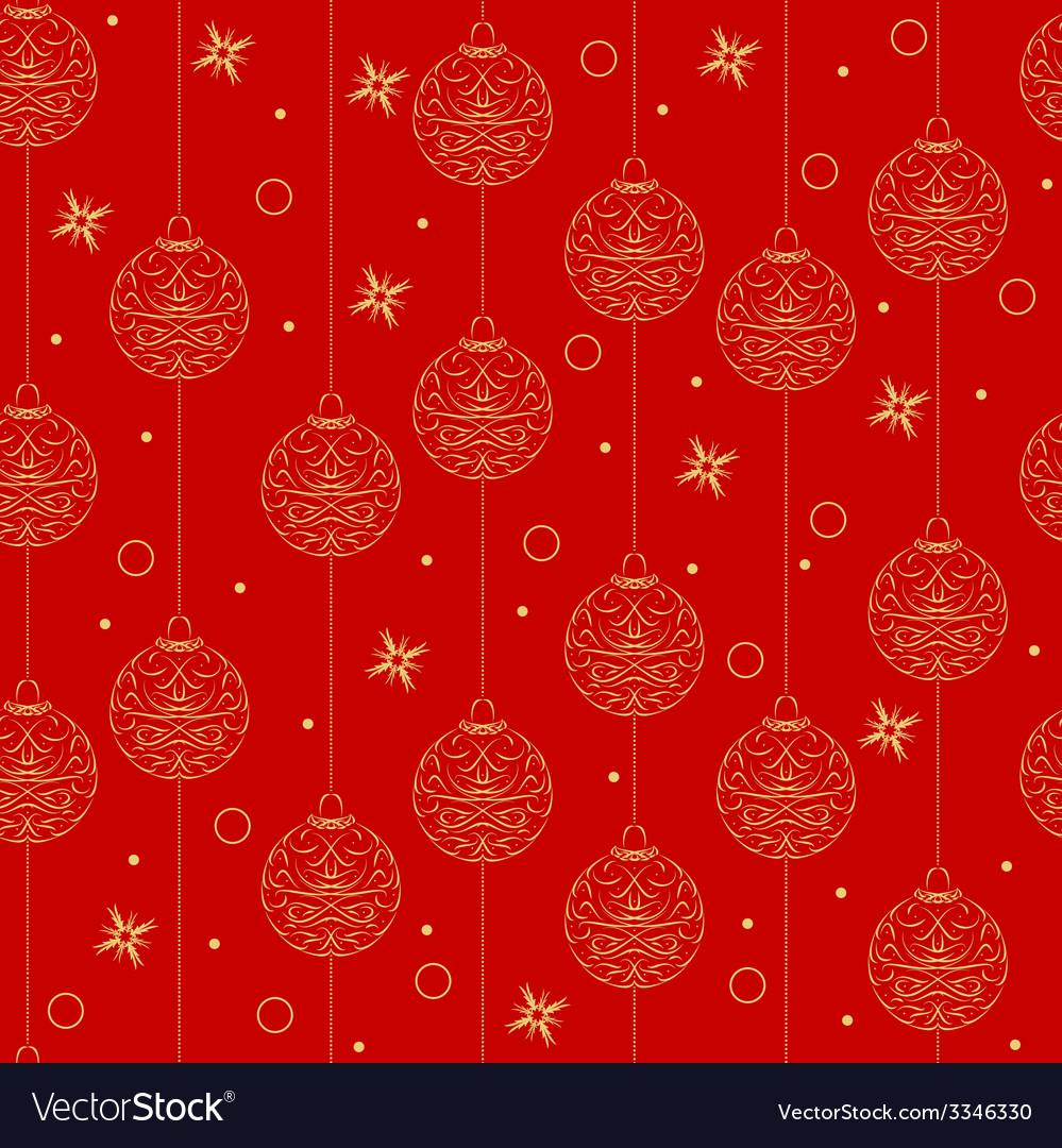 Christmas design seamless pattern vector | Price: 1 Credit (USD $1)