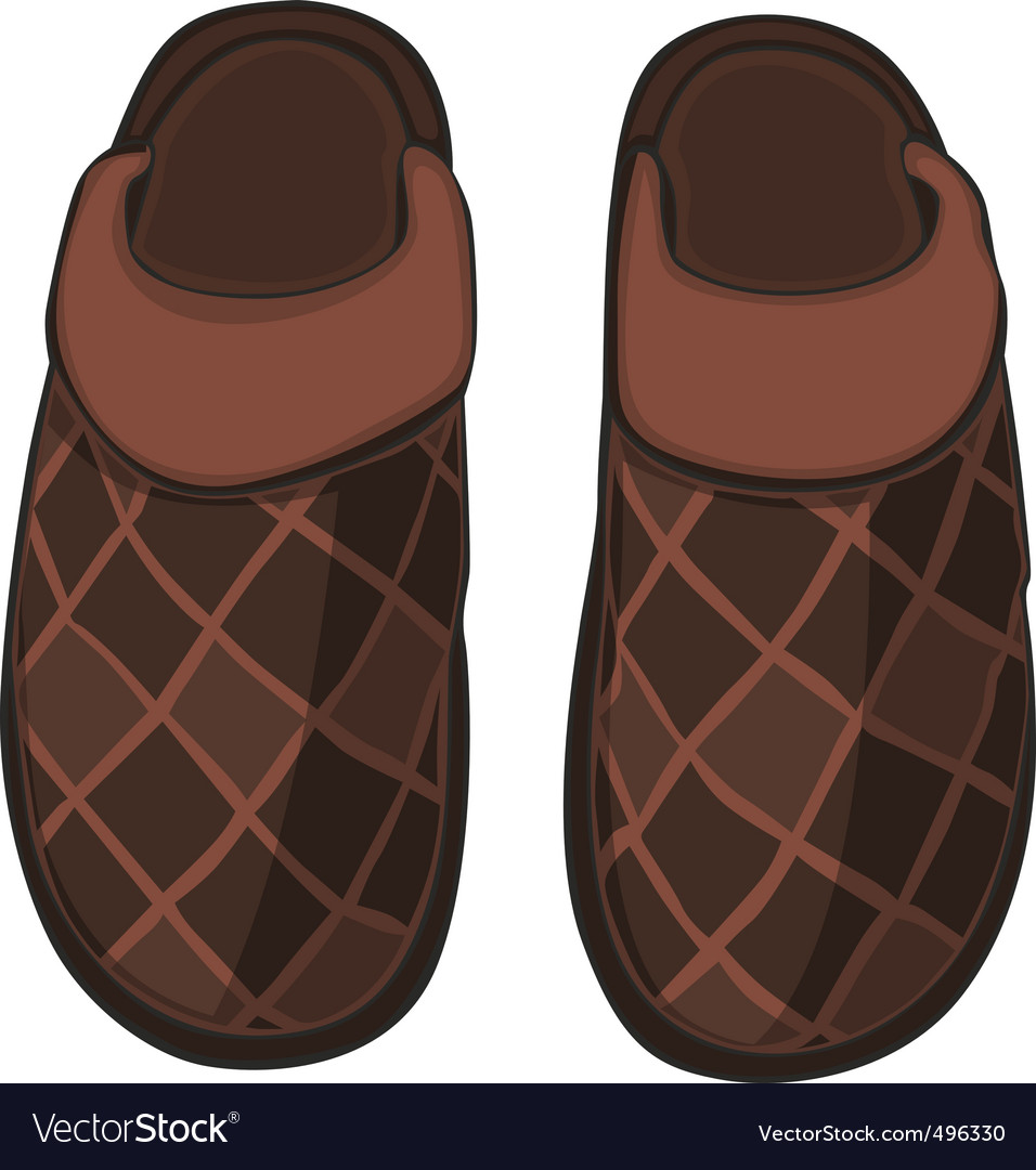 Home slippers vector | Price: 1 Credit (USD $1)