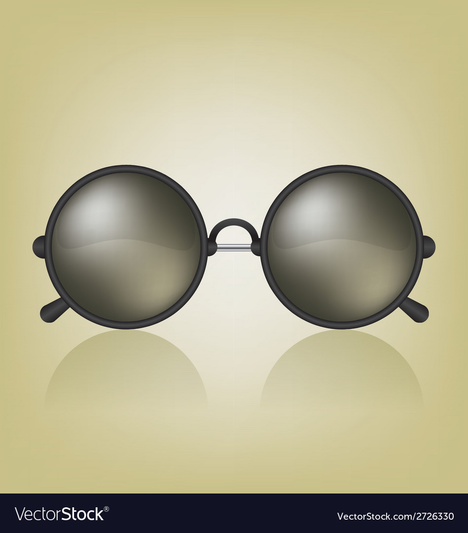 Retro sunglasses vector | Price: 1 Credit (USD $1)