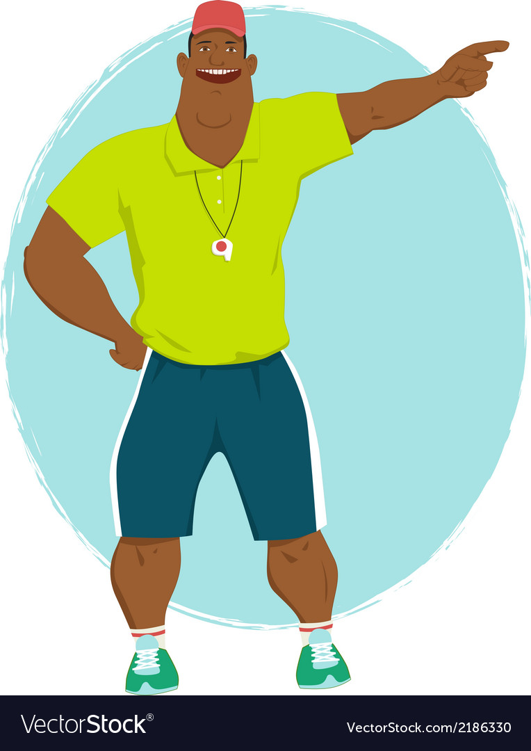 Summer camp counselor vector | Price: 1 Credit (USD $1)