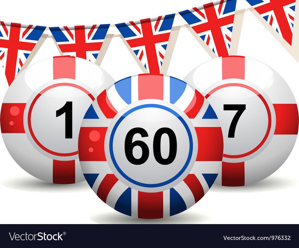 British bingo balls vector | Price: 1 Credit (USD $1)