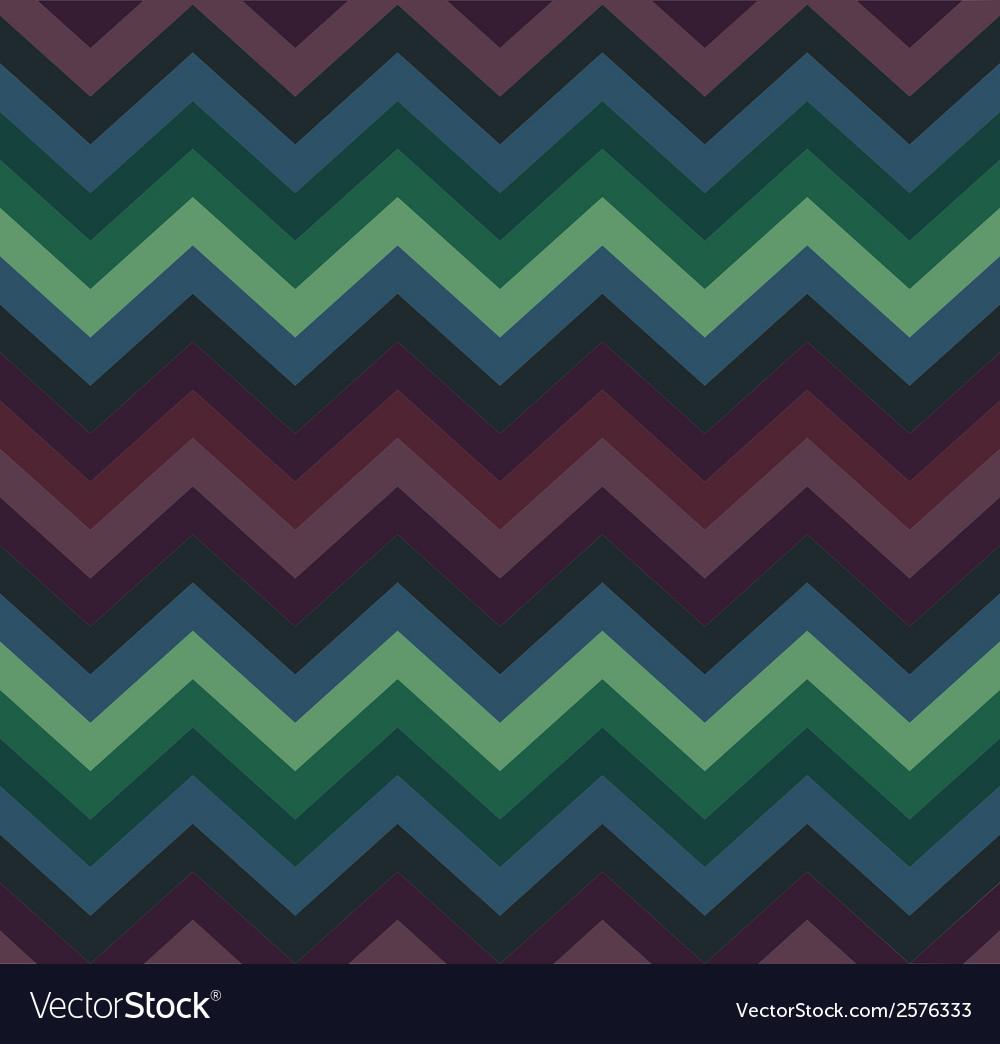 Geometric zigzag seamless pattern vector | Price: 1 Credit (USD $1)