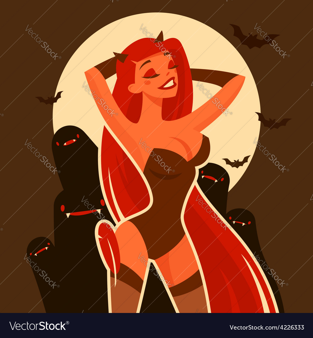 Halloween devil vector | Price: 3 Credit (USD $3)