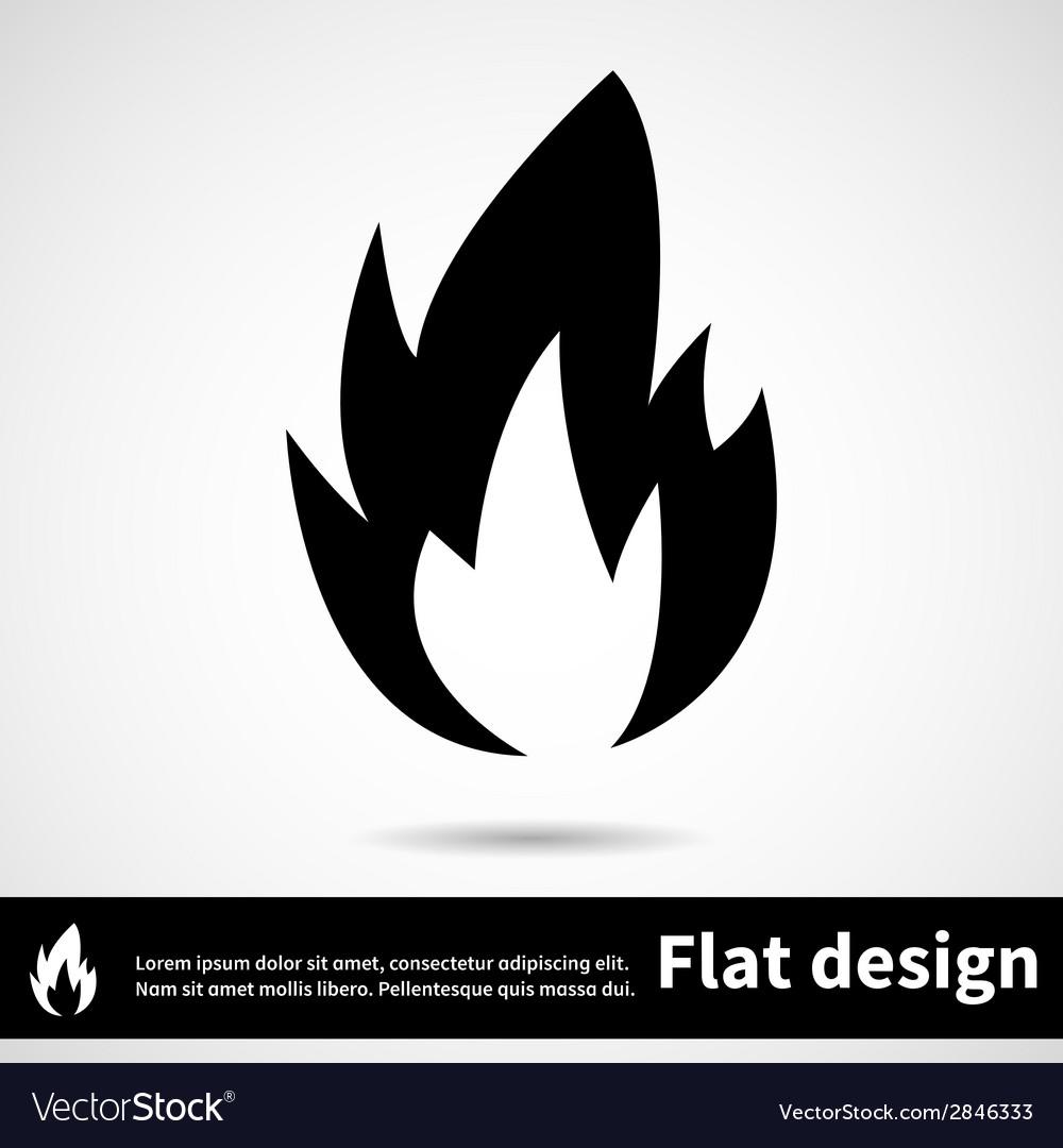 Icon flat design vector | Price: 1 Credit (USD $1)