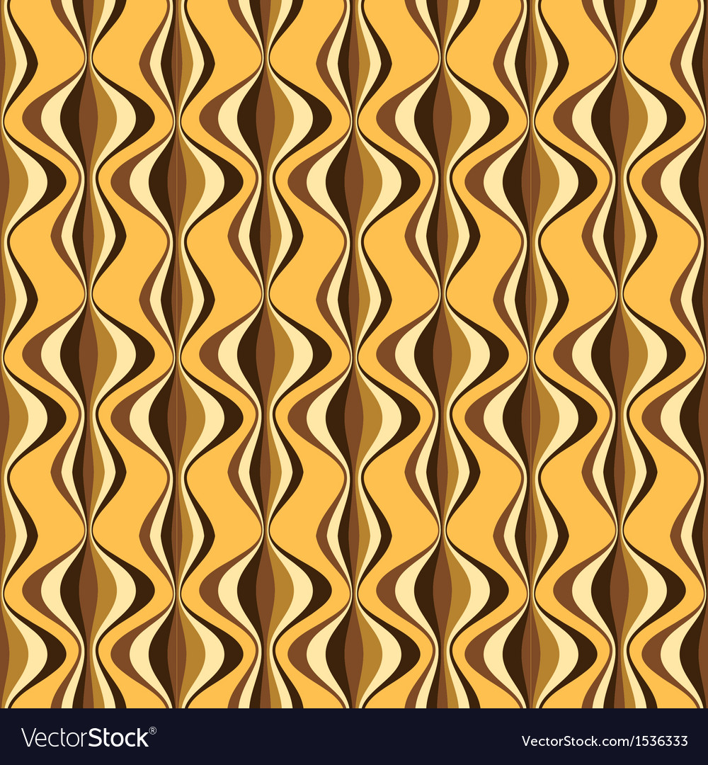 Seamless retro liquid background vector | Price: 1 Credit (USD $1)
