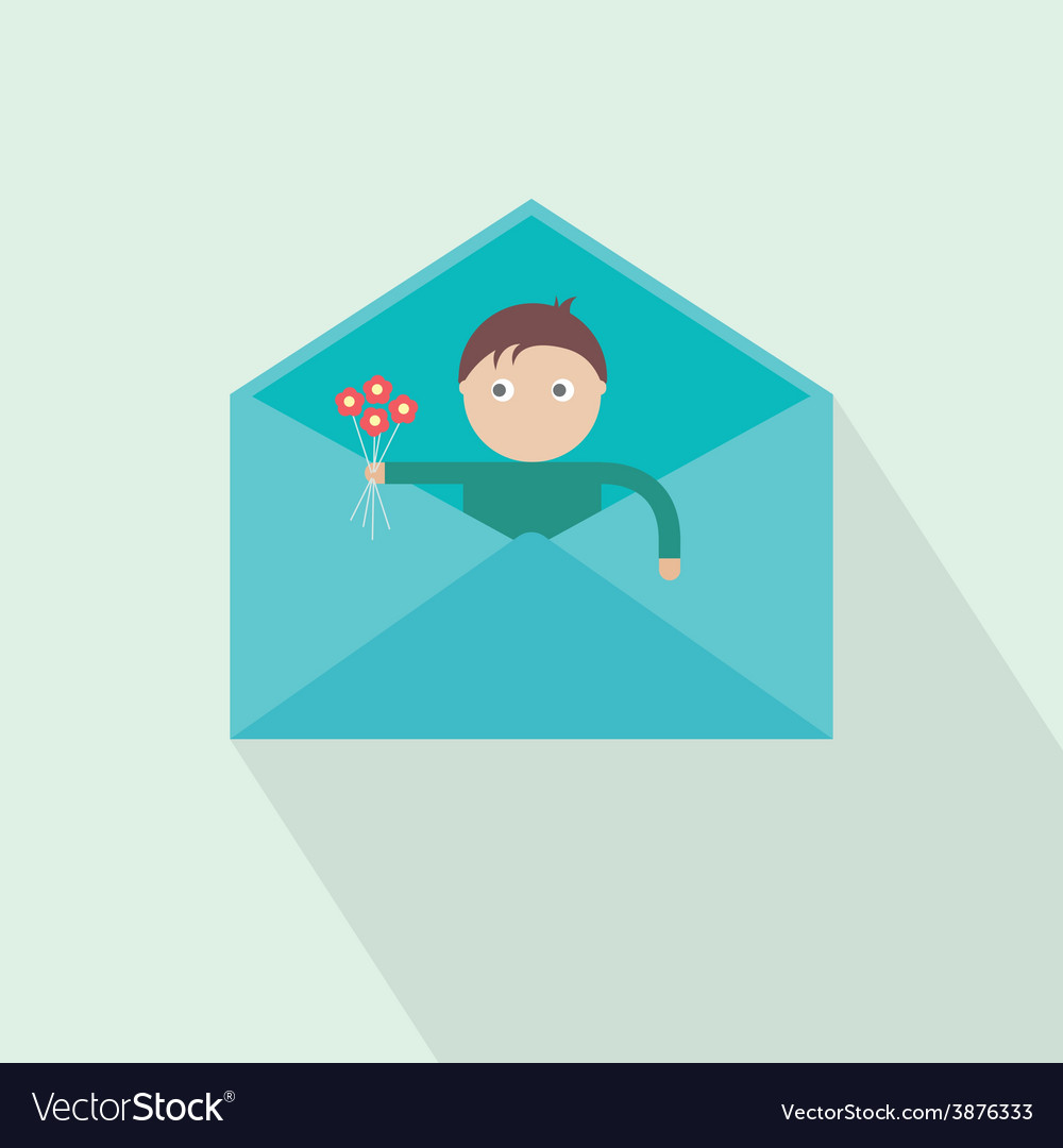 You have got mail love vector | Price: 1 Credit (USD $1)