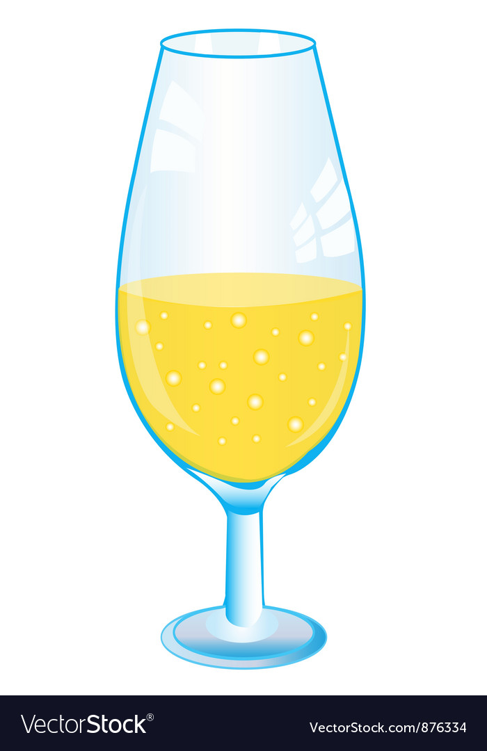 Goblet with drink vector | Price: 1 Credit (USD $1)