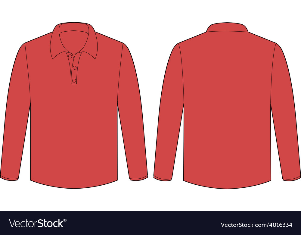Red shirt vector | Price: 1 Credit (USD $1)