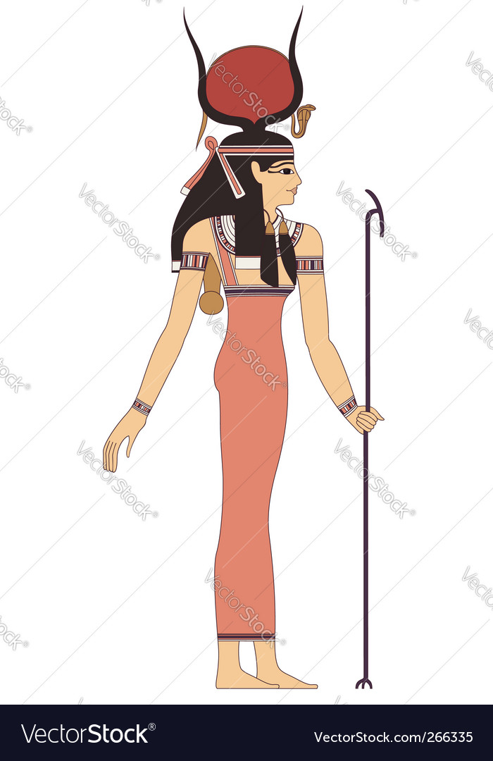 Ancient egypt god vector | Price: 1 Credit (USD $1)