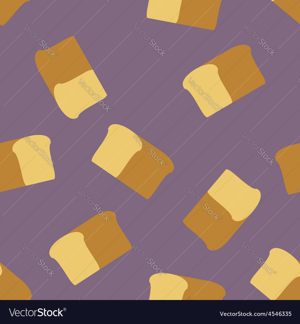 Bread seamless pattern food background vector   Price: 1 Credit (USD $1)