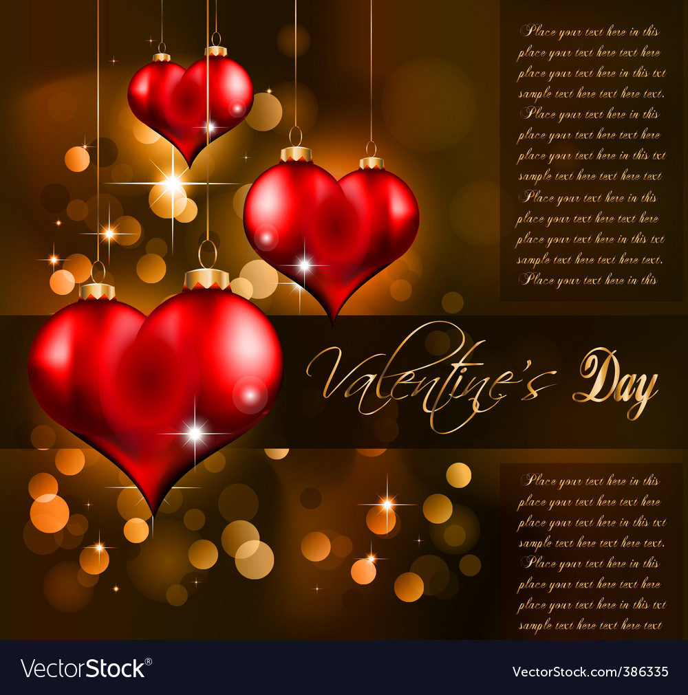 Valentines day flayer vector | Price: 3 Credit (USD $3)