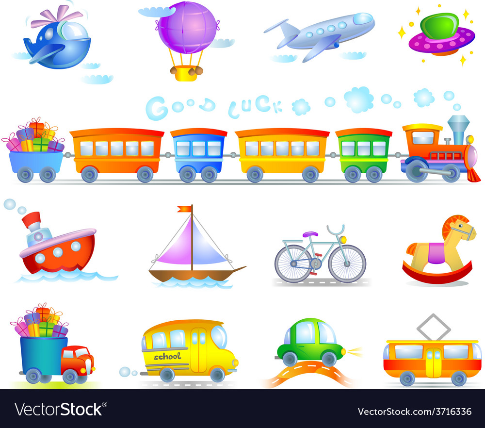 Types of transport vector | Price: 1 Credit (USD $1)